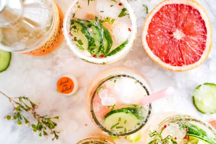 Salad Bowls and Mocktails